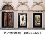 italy   milan 25 2018   luis... | Shutterstock . vector #1053863216