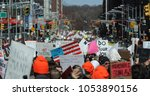 new york   march 24. 2018 ... | Shutterstock . vector #1053890156