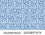 abstract vector seamless...   Shutterstock .eps vector #1053897674