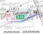 lebanon. alabama. usa   Shutterstock . vector #1053939698