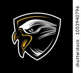 the head of an eagle sport logo ... | Shutterstock .eps vector #1053940796