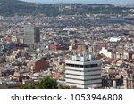 aerial view of barselona  spain | Shutterstock . vector #1053946808