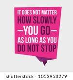 motivational quotes vector... | Shutterstock .eps vector #1053953279