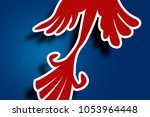 bird pattern background | Shutterstock . vector #1053964448