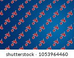 bird pattern background | Shutterstock . vector #1053964460