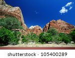 A View Of Zion National Park