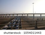 high speed railway jeddah in...   Shutterstock . vector #1054011443