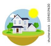 cartoon flat illustration  ... | Shutterstock .eps vector #1054019630