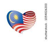 malaysia flag  vector...   Shutterstock .eps vector #1054026203