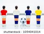 foosball table soccer .sport...   Shutterstock . vector #1054041014