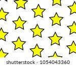 irregular texture with multiple ... | Shutterstock . vector #1054043360