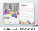 abstract background design ... | Shutterstock .eps vector #1054048523