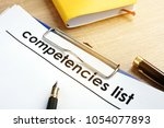 Competencies List With...