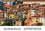 beautiful view of  historic... | Shutterstock . vector #1054078556