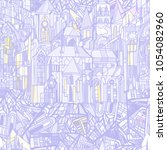 vector seamless pattern... | Shutterstock .eps vector #1054082960
