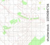 map line of topography.... | Shutterstock .eps vector #1054084736