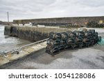 Lobster Pots Stacked Up On A...