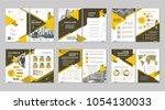 brochure creative design.... | Shutterstock .eps vector #1054130033
