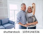 love lives forever  senior... | Shutterstock . vector #1054146536