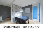 apartment interior design | Shutterstock . vector #1054152779
