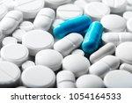pharmacy theme  medicine... | Shutterstock . vector #1054164533