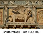 italy  venice  the symbol of... | Shutterstock . vector #1054166483