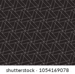 seamless linear pattern with... | Shutterstock .eps vector #1054169078