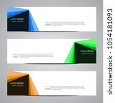 modern banner vector for your... | Shutterstock .eps vector #1054181093
