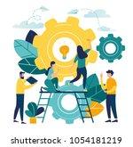 vector creative illustration of ... | Shutterstock .eps vector #1054181219