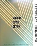 modern cover design for your... | Shutterstock .eps vector #1054201856