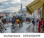 bruges  belgium   march 15 2015 ... | Shutterstock . vector #1054206449