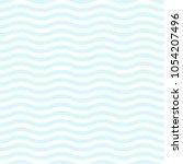 blue wave background seamless... | Shutterstock .eps vector #1054207496