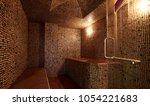 interior of luxury turkish bath ... | Shutterstock . vector #1054221683