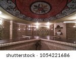 interior of luxury turkish bath ... | Shutterstock . vector #1054221686