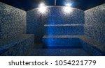 interior of luxury turkish bath ... | Shutterstock . vector #1054221779