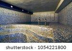 interior of luxury turkish bath ... | Shutterstock . vector #1054221800