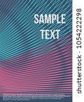 minimum geometric coverage.... | Shutterstock .eps vector #1054222298
