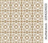 white on brown flower... | Shutterstock . vector #1054224023