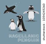 Magellanic Penguin Cartoon...