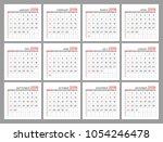 set identical light mini... | Shutterstock .eps vector #1054246478
