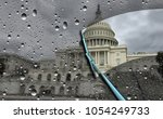 washington news concept and... | Shutterstock . vector #1054249733