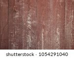 red weathered wooden boards | Shutterstock . vector #1054291040