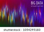 abstract vector finance  big... | Shutterstock .eps vector #1054295183