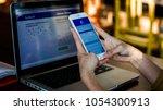 bangkok. thailand. january 31 ... | Shutterstock . vector #1054300913