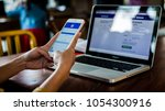 bangkok. thailand. january 31 ... | Shutterstock . vector #1054300916