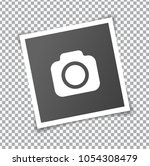new realistic square frame... | Shutterstock .eps vector #1054308479