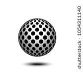 abstract design element  sign ...   Shutterstock .eps vector #1054311140
