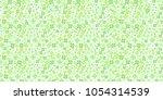 clover leaf green background | Shutterstock .eps vector #1054314539