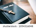 religion christianity concept... | Shutterstock . vector #1054316048