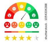 customer feedback concept.... | Shutterstock .eps vector #1054334288